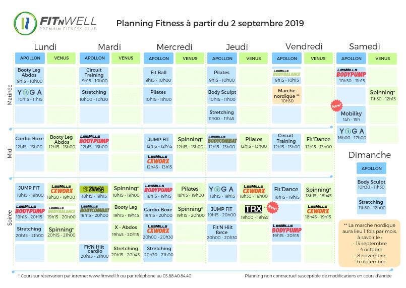 Planning Terrestre - 2 Septembre 2019