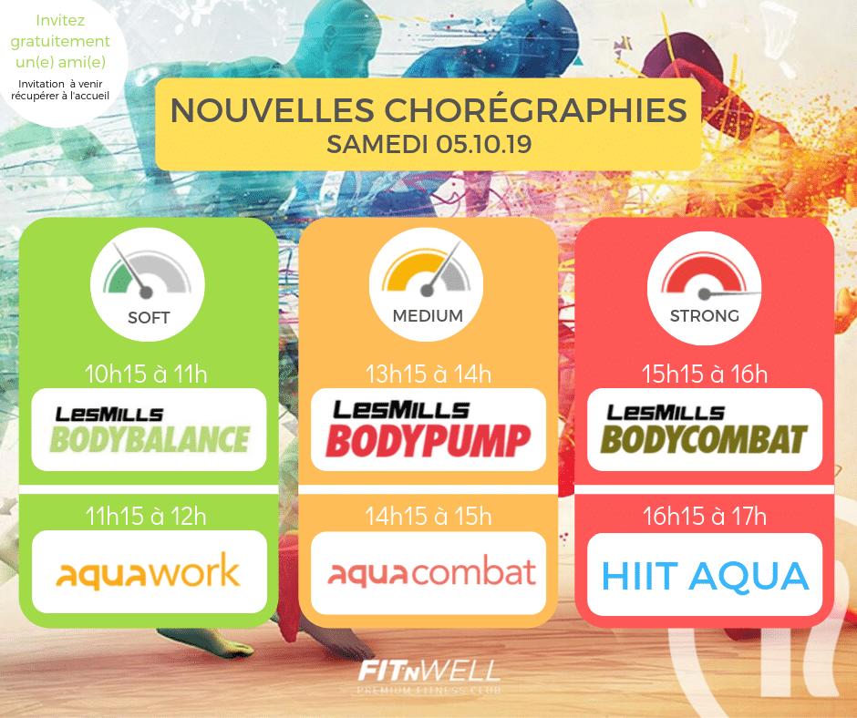 Nouvelles chorégraphies - 5 Octobre 2019